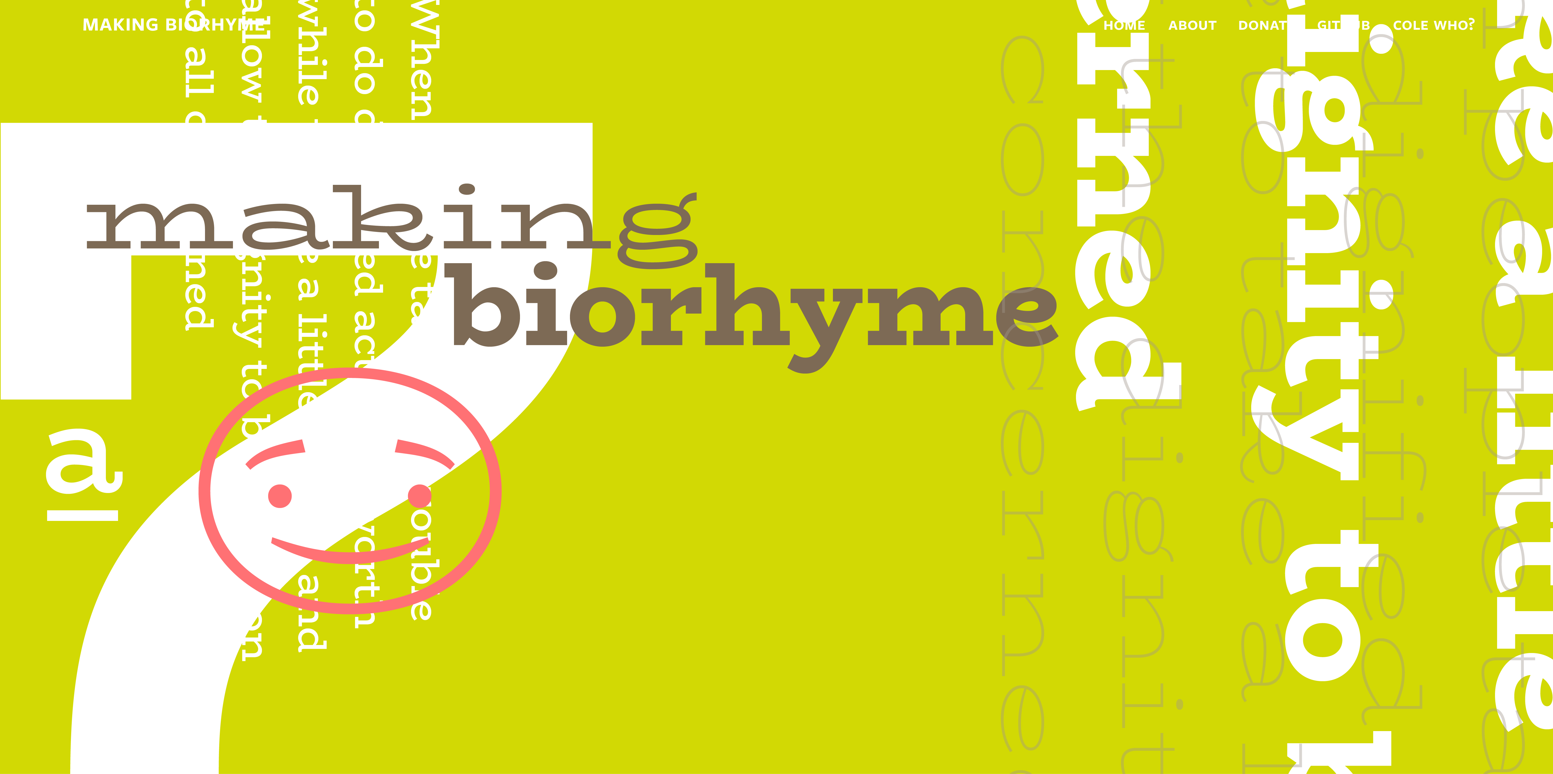 BioRhyme Expanded Font Free by Aoife Mooney » Font Squirrel