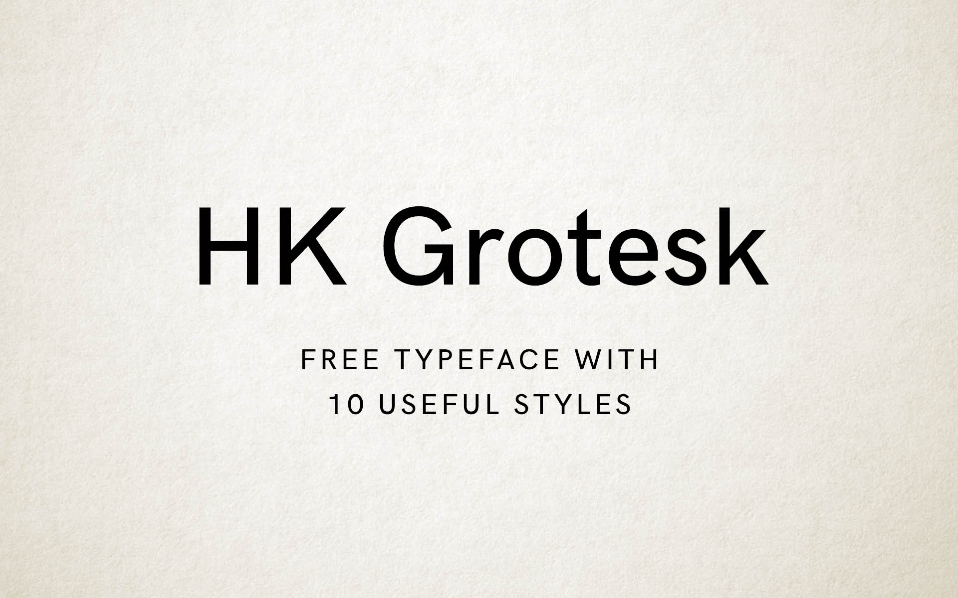 HK Grotesk Font Free by Hanken Design Co  » Font Squirrel