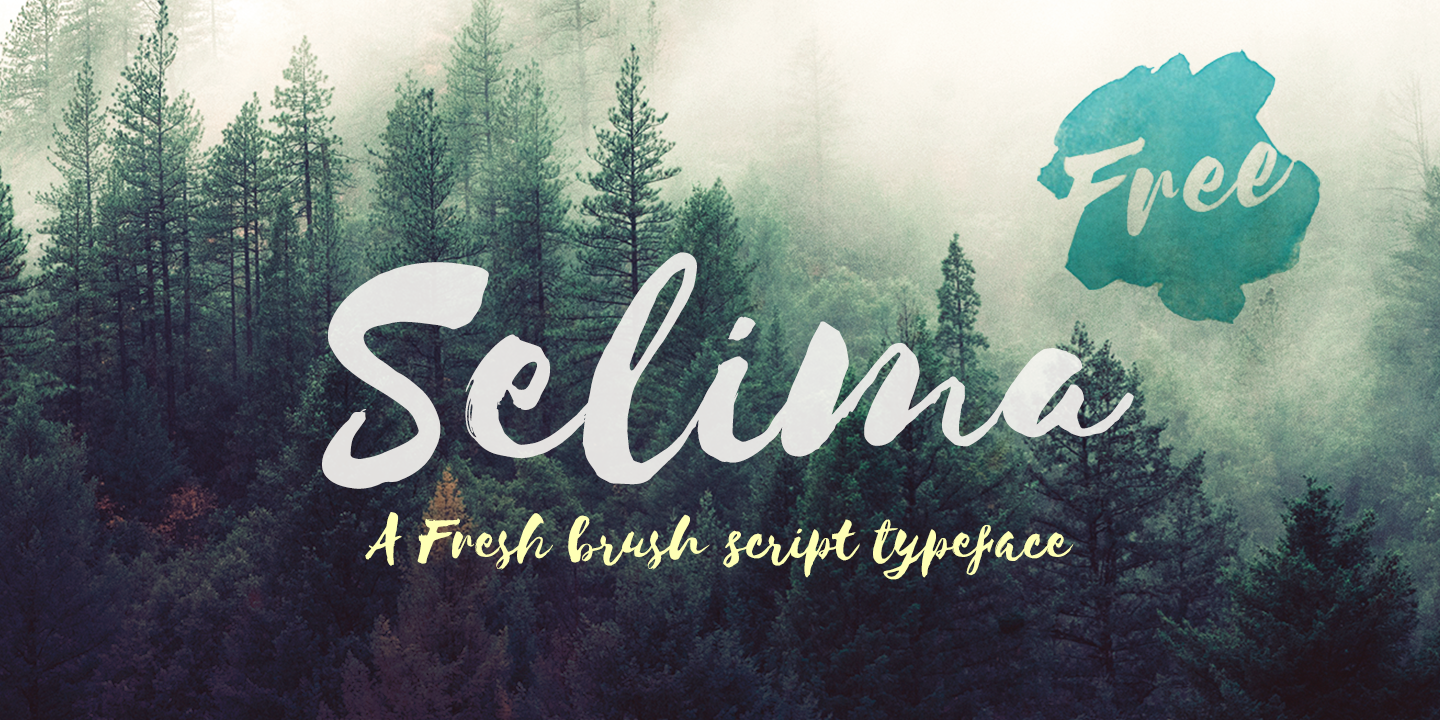 Selima Font Free by Jroh » Font Squirrel