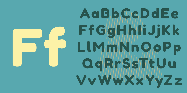 Fredoka Font Free by Milena B Design » Font Squirrel