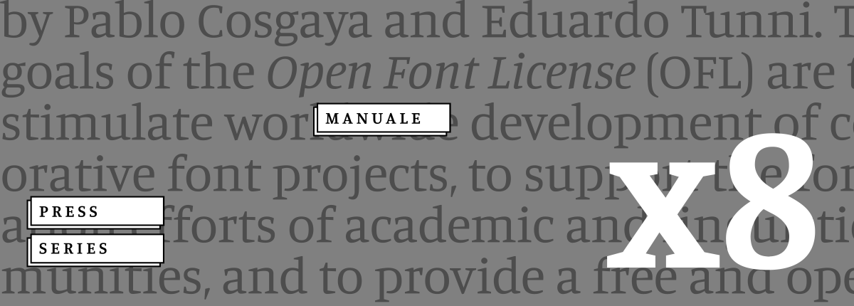 Manuale Font Free by Omnibus Type » Font Squirrel